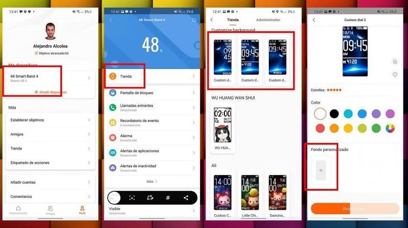 Colocando uma Foto Como Papel de Parede no Xiaomi Mi Band 5